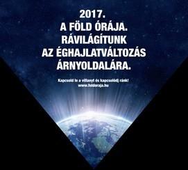 Csatlakozzon az Önök épülete is a március 25-i Föld Órája kezdeményezéshez!