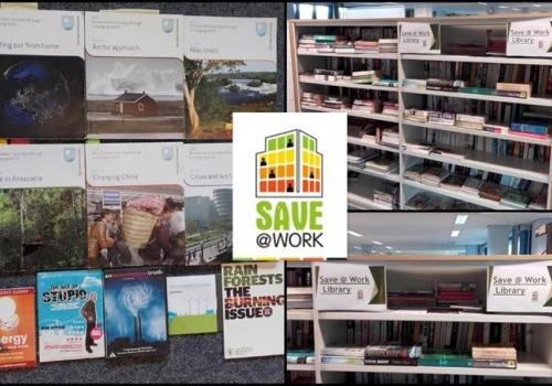 Nemzetközi kitekintés - Egyesült Királyság: A brit Telford Földhivatalban létrejött egy klímaváltozással foglalkozó könyvtár