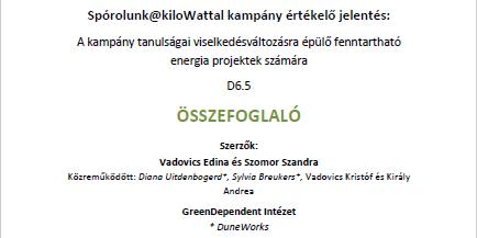 Elérhető a záró értékelő jelentés magyarul